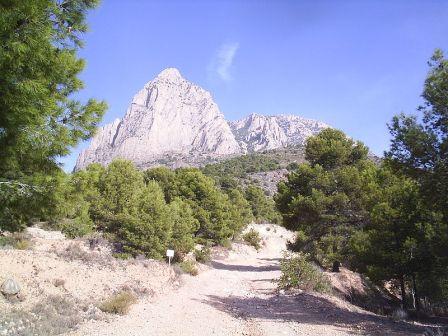 El pico Puig Campana