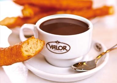 Villajoyosa, chocolate a la taza Valor