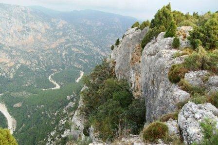 entorno natural del rio Montlleo
