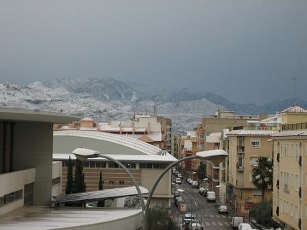 el término de Segorbe nevado