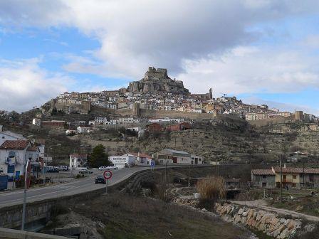vista de la ciudad de Morella