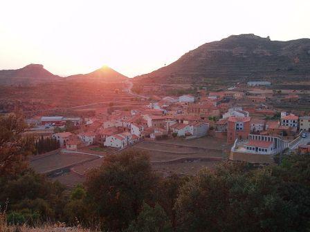 Panoramica de Olocau del Rey