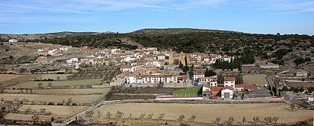 Vista del pueblo de Villores