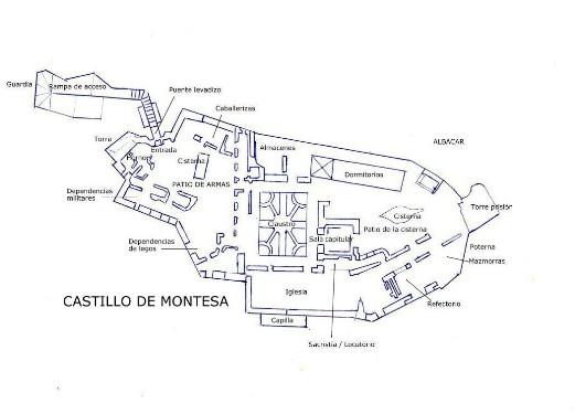 plano maqueta castillo