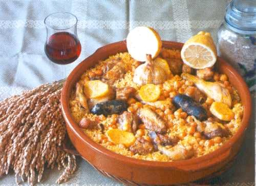 Arros al forn, Arroz al horno comunidad valenciana