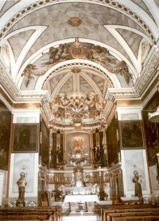 Cocentaina iglesia Convento de las Clarisas