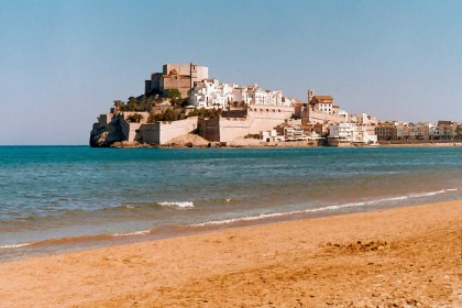 Peiscola, castillo y playa