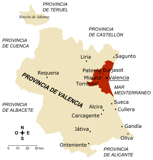 provincia de valencia