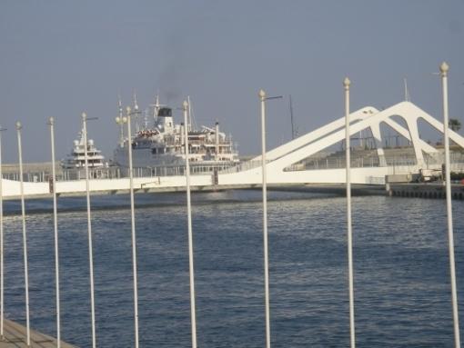 Vista actual de el Puerto de Valencia