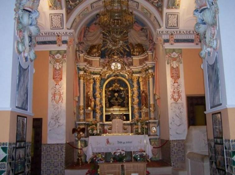 Altar Santuario del Remedio Requena Utiel