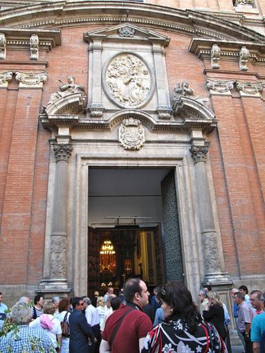 Fachada de la Iglesia de Santo Tomas Apostol Y San Felipe Neri