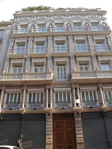 Edificios de la calle de la Paz
