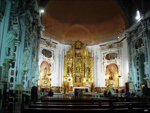 Altar de la Iglesia de los Santos Juanes en Valencia