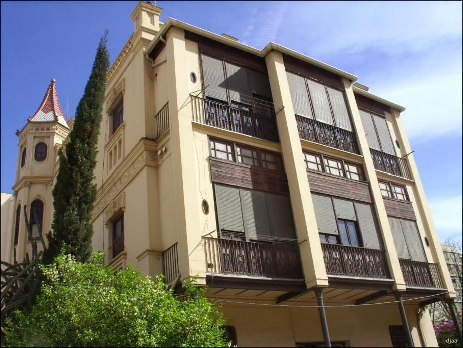 Esquina de la casa de el médico en Valencia