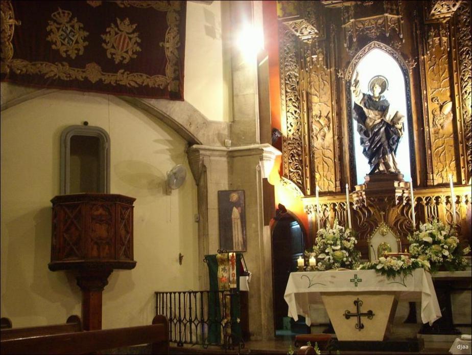 Altar en Iglesia  de San Vicente Ferrer