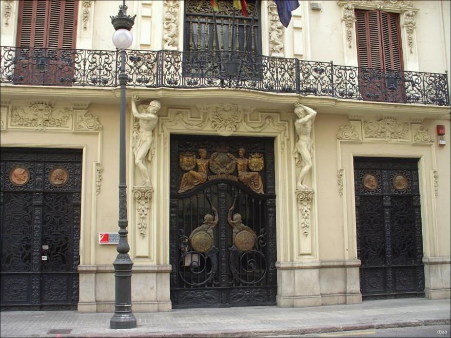 Balcons del Col·legi de notaris a València