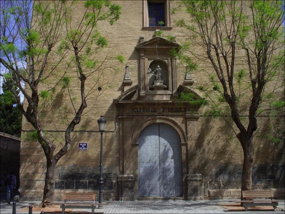 Fachada de el Convento de Santa Ursula