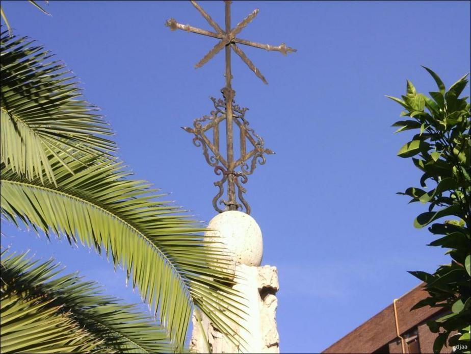 """Detall de la Creu d'Acabe """"Camí del Mar"""""""
