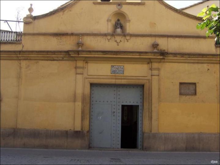 Poratada de la Ermita de Santa Lucia