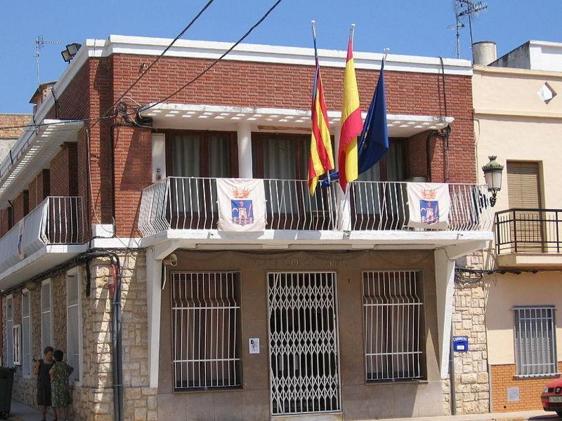 Casa Consistorial. de Beniarjó