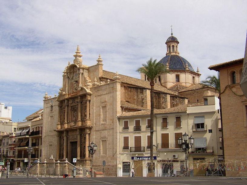 Iglesia de la Asunción, SigloXVII, Liria