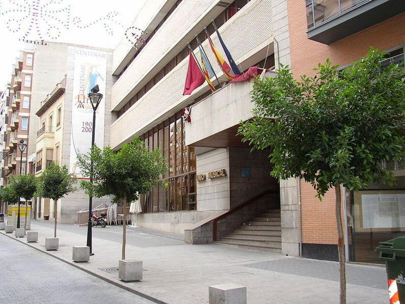 Fachada de la Sede de la Unión Musical de Liria