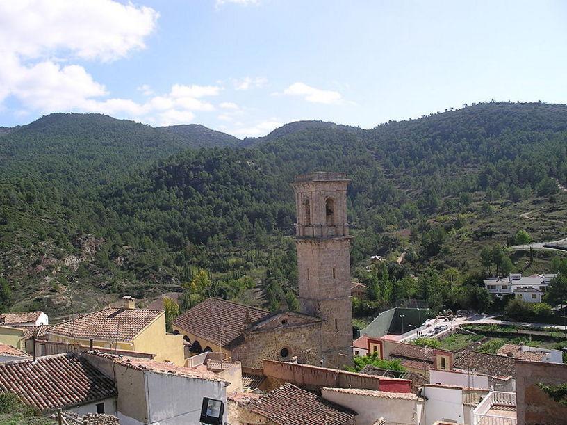 Vista de la localidad de Andilla