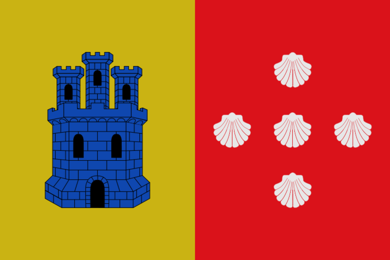 Bandera representativa de Zarra