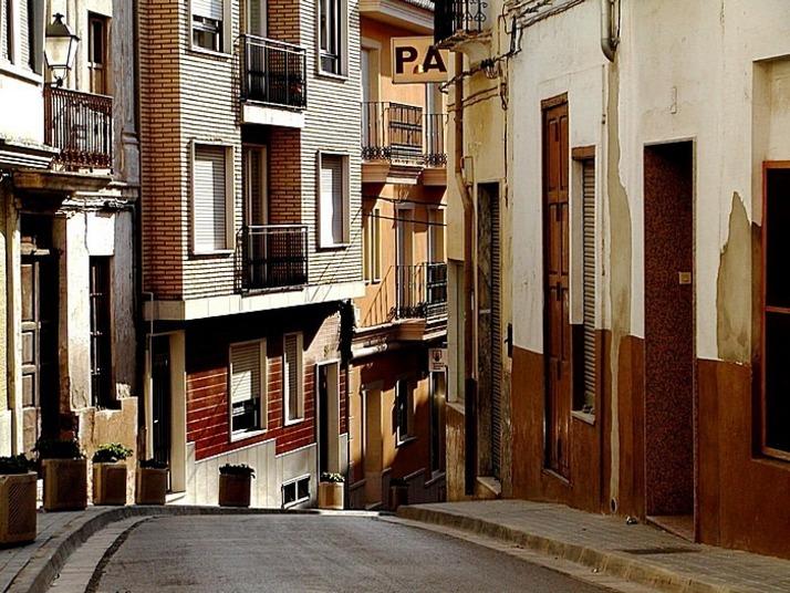 Calles y fachadas de Cheste