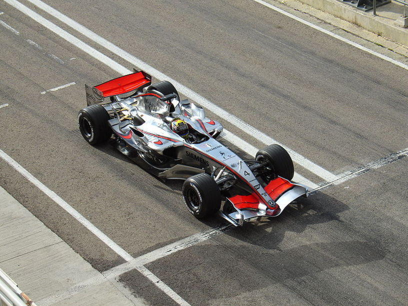 Juan Pablo Montoya en el  Cheste Circuit