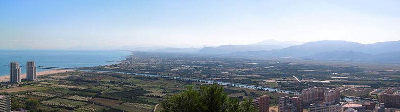 Vista panoramica de Cullera