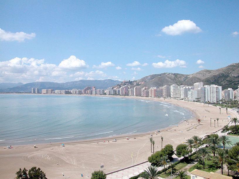 Vista panoramica de la Bahia de Cullera