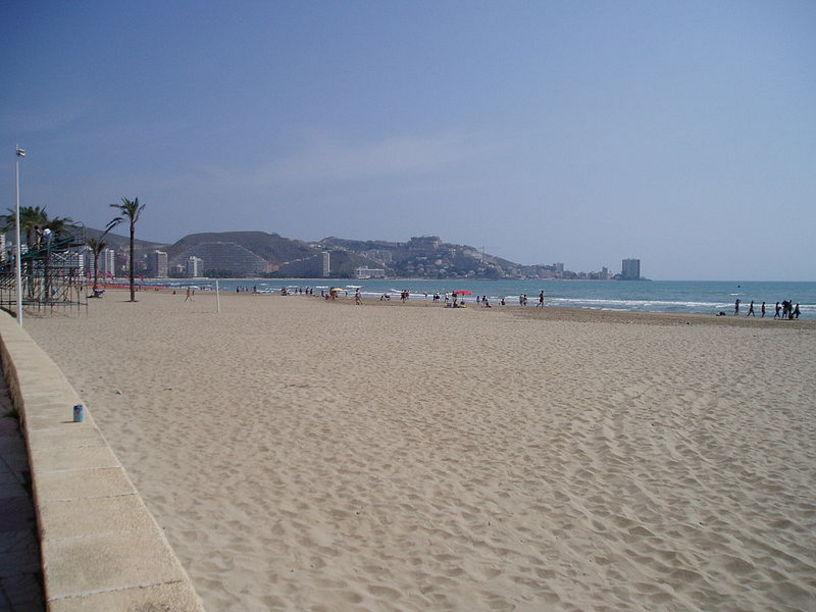 Vistas de la Playa de Cullera