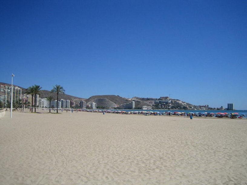 Vistas panoramicas de las playas de Cullera