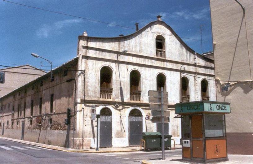 El antiguo Teatro El Siglo  en el Carlet
