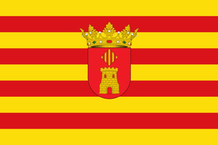 Bandera representativa de Villanueva de Castellón