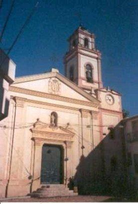 Fachada de la Iglesia Parroquial de Monserrat