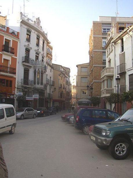Calles de la localidad de Requena