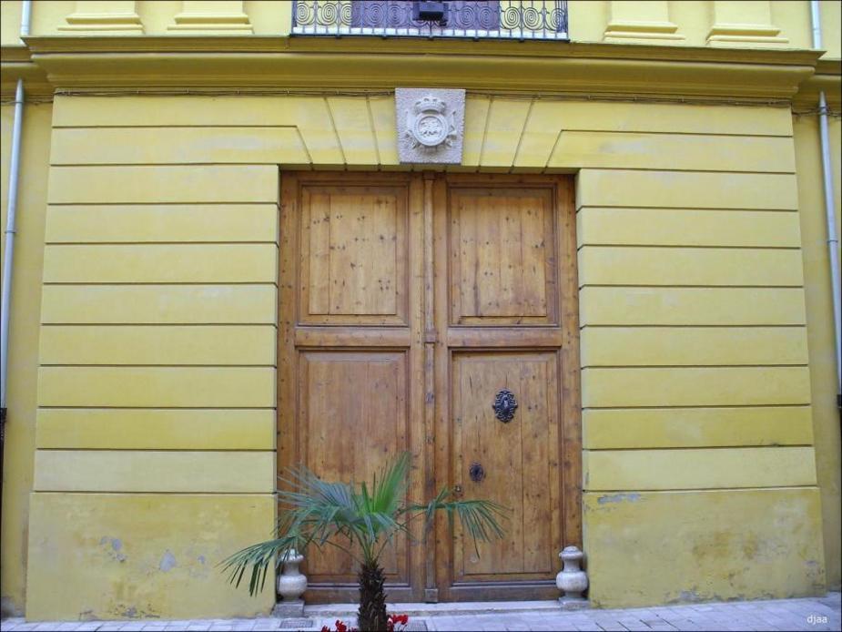 Portada de el Palacio de la Real del Maestrazgo de caballeria