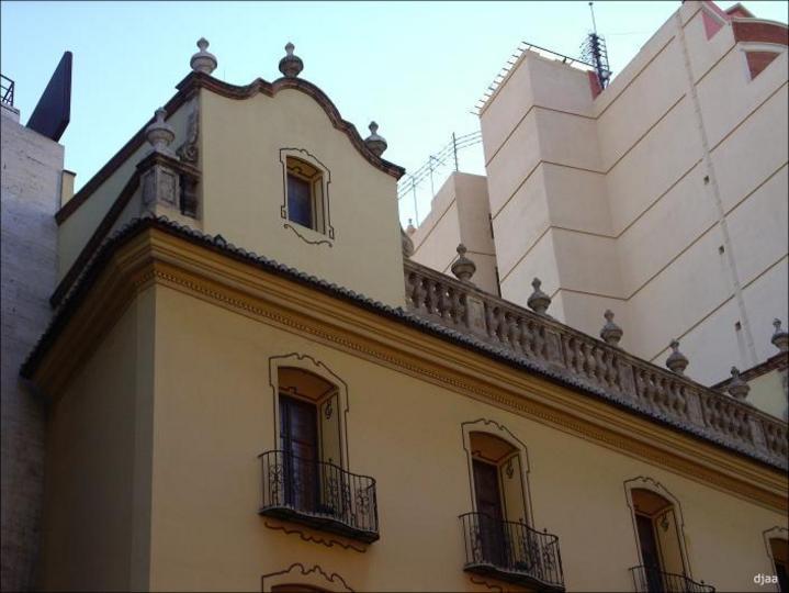 Detalle de la fachada de el  Palacio de los Marqueses de Peñalba