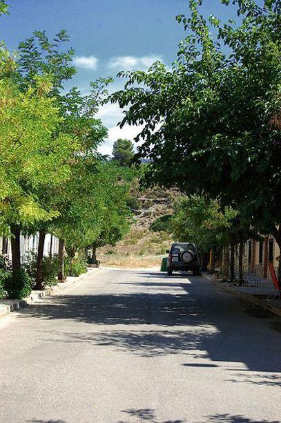 Vista de la carretera de ReRequera