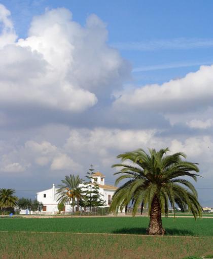 Vista de l'Alquieria de l'Horta Nord