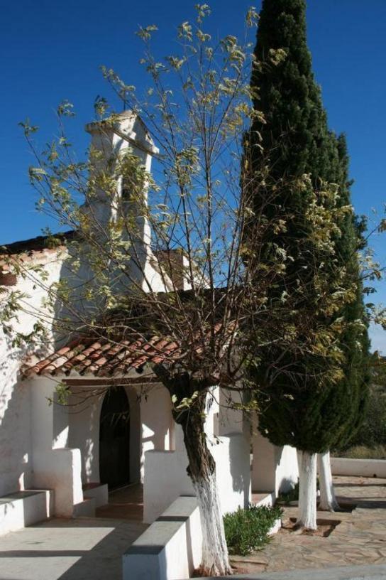 Vista de el santuario de Loreto de Chelva