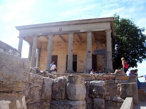 Entrada al foro romano en Sagunto