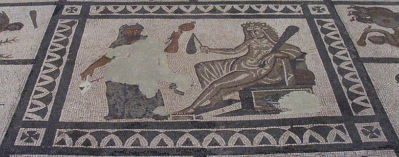 Mosaico de la La Llíria Ibérica