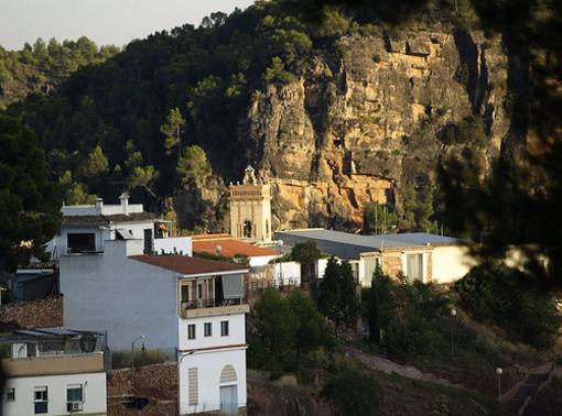 Vistas de el poblado de Olocau