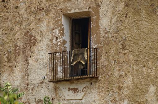Casas tipicas de Olocau