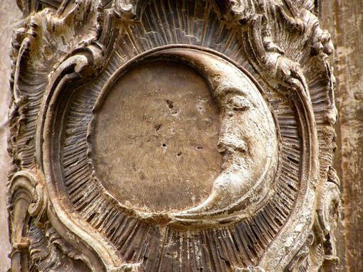 Iglesia de Pedralba - Detalle de una de sus columnas