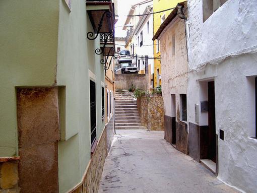 Recorriendo las calles de Pedralba