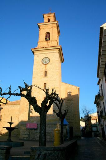 Fachada de la Iglesia de Alcublas